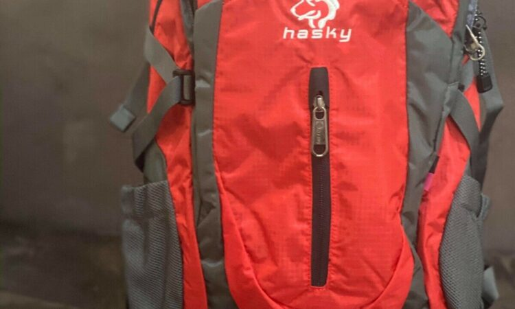 Hasky Outdoor Backpack Bag Red Outdoors