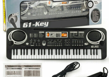 Piano Keyboard 61 Keys with Mic recording function