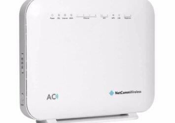 Netcomm NF18ACV AC1600 WiFi VoIP ADSL/VDSL Wireless Modem Router - NBN READY