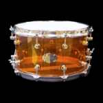 CHAOS ILLUSION ACRYLIC 14x8 SNARE DRUM - AMBER
