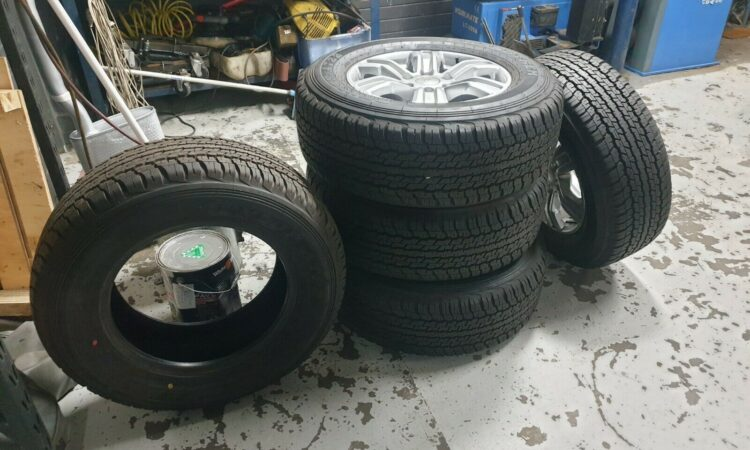 Ford Ranger Tyres & Rims