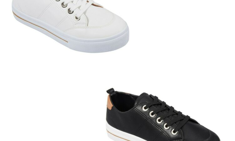 Women's Sneakers Shoes Casual Canvas Lace Up Design Fashion Ladies R1..