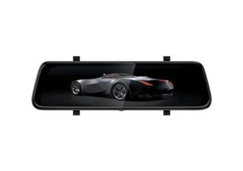"""9.3"""" TOUCHSCREEN REARVIEW MIRROR with DVR"""
