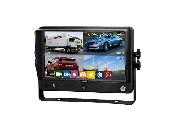 """9"""" QUAD RECORDING TOUCH SCREEN MONITOR"""