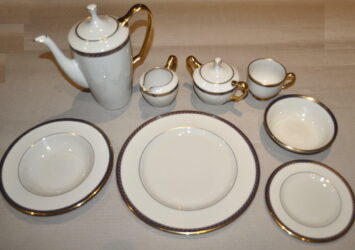 NEW.LENOX PRESIDENTIAL COLLECTION FINE DINING SET~RARE