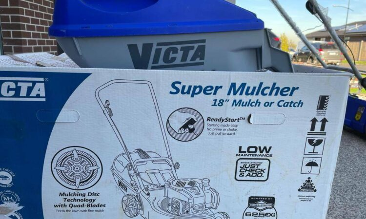 VICTA SUPER LAWN MOVER ON SALE VERY RELIABLE AND EASY TO START