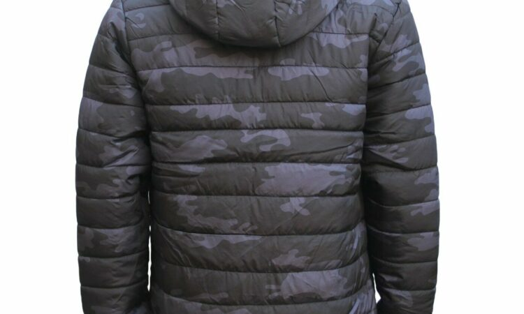 New Men's Water Resistant Windproof Lightweight Puffy Puffer Coat Quilted Jacket