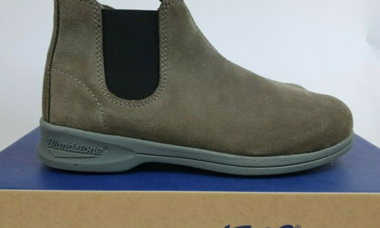 """Blundstone 1397 women Boot Suede """"Olive"""" Non Safety New (Size US7) w casual"""