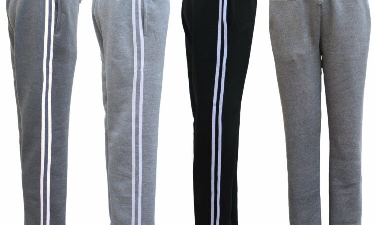 Ladies Womens Thick Fleece Lined Track Pants Casual Work Sport Gym Casual Winter