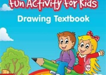Draw and Learn Fun Activity For Kids: Drawing Textbook, Brand New