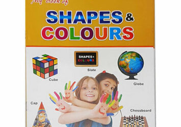 Shapes & Colours Kids Learning Book