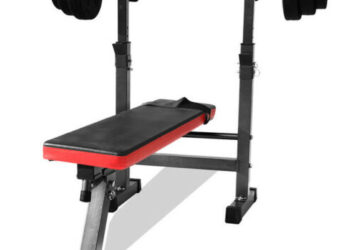 MULTI-STATION FOLDABLE BENCH PRESS INCLINE HOME GYM FITNESS OLYIMPIC WEIGHTS