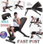 Dumbbell Adjustable Weight Bench Press Bench Fitness Incline Sit up Gym Flat
